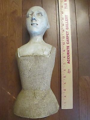 ~ Vintage Looking Home Decor~ Bust Head Man or Woman~ Art~ Craft ~Elegant *~