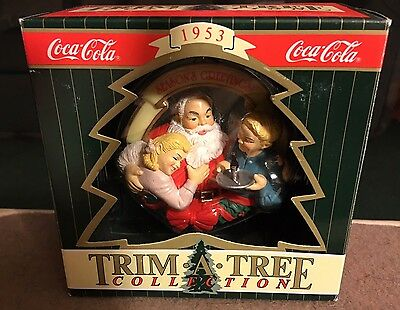 1953 Coca-Cola Trim A Tree Collection