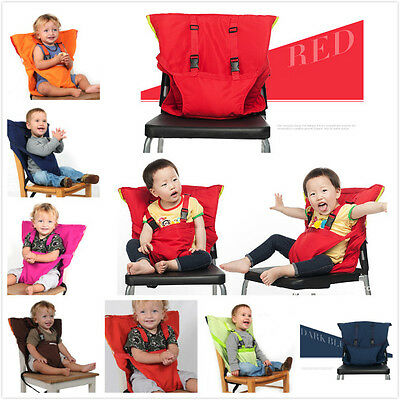 Safe travel Portable Baby High Chair belt Seat Infant Sack Sacking Kids Seat