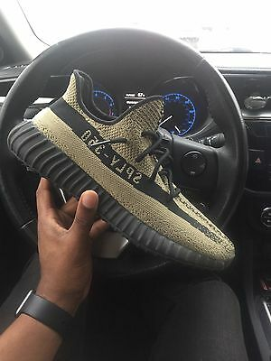 yeezy boost 350 v2 Unreleased Green/Black Size 11