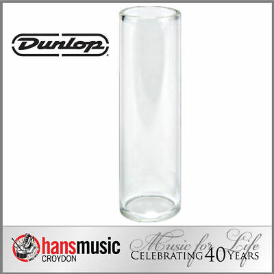 Jim Dunlop Tempered Glass Guitar Slide, Regular wall, Medium 202 *NEW* 18x22x69
