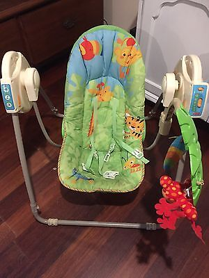 Fisher And Paykel Rainforest Baby Swing Chair