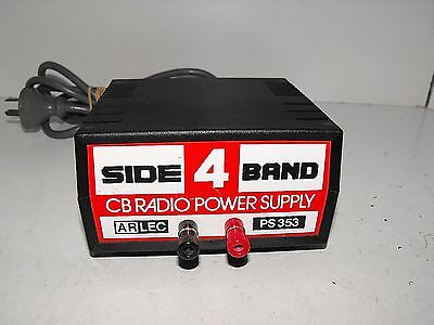 "Side Band 4 CB Radio Power Supply 12V 4A DC Regulated Bench Top ""GWO"""