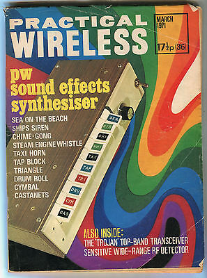 Practical Wireless: March 1971: PW Sound Effects Synthesiser
