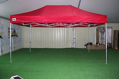GALA TENT 3m x 4.5m Pro-50™ Gazebo Pop-Up Commercial Market Stall (RED) *SALE*