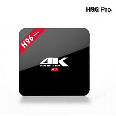 2017 H96 Pro+ PLUS Amlogic Android 7.1 Smart 4K TV Box 3GB/32GB Sports UK