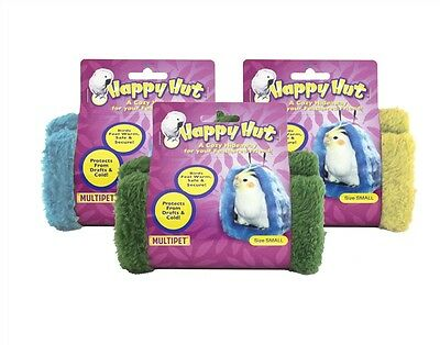 """Multipet Happy Hut for Birds-Small 5"""" Colors Vary (Free Shipping in USA)"""
