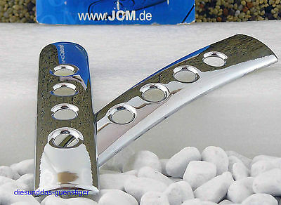 HANDLE COVER TÜRGRIFFBLENDE 4 St. JOM TÜRGRIFF BLENDE SATZ CHROM GOLF IV LEON *