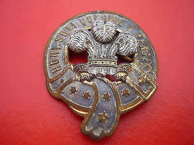 Metal detecting find, Prince of Wales brooch WW2 rare