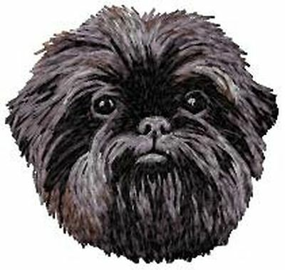 "Affenpinscher Dog, Embroidered Patch 3"" Tall"