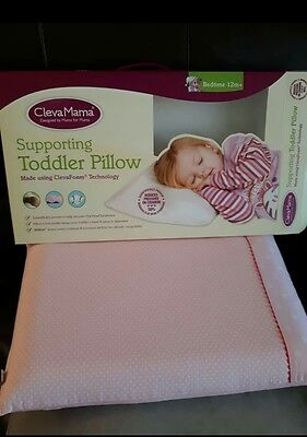 Clevamama toddler pillow and case