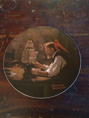 Vintage Knowles Norman Rockwell Heritage Collection The Ship Builder Plate