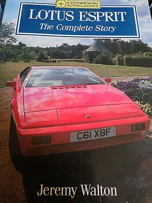 Lotus Esprit The Complete Story isbn 1-85223-479-2