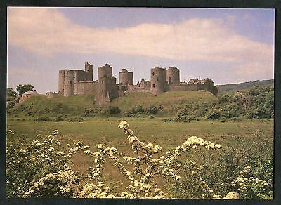 C1970s View: Kidwelly Castle, Dyfed, Wales