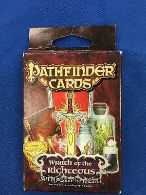 Pathfinder Role Playing Games Wrath of the Righteous 54 Unique Item Cards