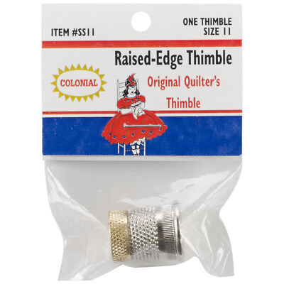Raised Edge Thimble Size 11 SST-11