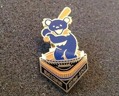 Grateful Dead & And Company Citi Field 2017 Tour Pin New Sold Out