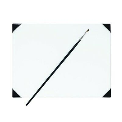 New Wave 00241   Posh White Glass Table Top Palette 9X12