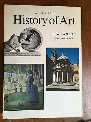 A Basic History Of Art By H.W. Hanson 1971