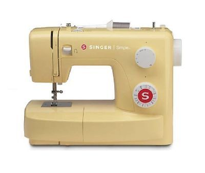 Simple 23 Stitch Electric 120V Sewing Machine With Foot Pedal, Easy Threading