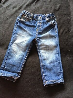 Younger Boys NEXT BABY Jeans Uk Size 12-18 Months Blue