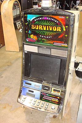 Survivor  Video Slot Machine By Williams Coinless  Casino Fun For Your Home