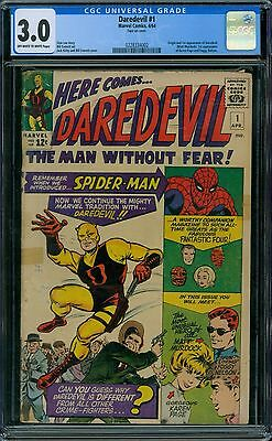 Daredevil 1 CGC 3.0 - OW/W Pages