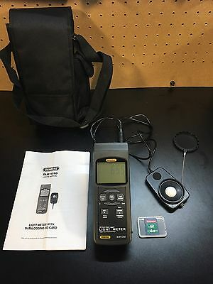 General Tools DLM112SD Data Logging Light Meter with Excel Format SD Card