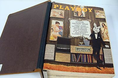Playboy Magazine Complete Set of 1962 Back Issues - 12 total**FREE SHIPPING!!
