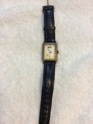 Vintage Betty Boop Fossil Watch Limited Edition 1994