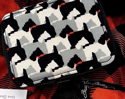 Vera Bradley Travel Pill Case Scottie Dogs - Brand New Pattern NWT HTF RARE