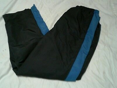 Men's Nike Blue and Gray Lined athletic Pants. Size L. Very NICE