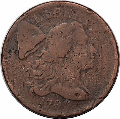 1794 Flowing Hair Liberty Cap Large One Cent Penny Coin