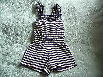 ** FAB Baby Girls Short Striped Play Suit - George (12 - 18 months) **