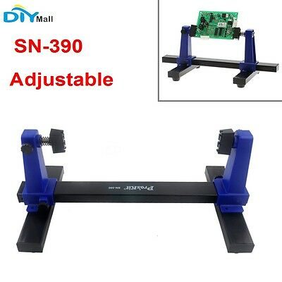 SN-390 Adjustable PCB Printed Circuit Board Soldering and Assembly Clamp Holder