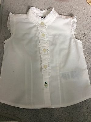 tommy hilfiger Baby Girls White Blouse