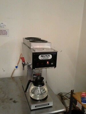Bunn stf automatic commercial coffee maker with hot water spigot
