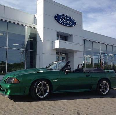 1988 Ford Mustang GT Mustang GT Convertible