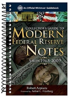 US Collector's Guide Book to Modern Federal Reserve Notes Banknotes Collection