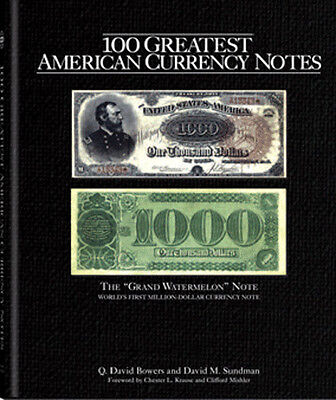100 Greatest American Currency Notes US Currency Collector Book Gift Free Post