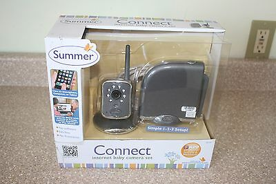 Summer Infant Connect Internet Camera System Baby Monitor NEW  28130