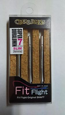 COSMO FIT SUPER DURALUMIN SLIM SPINNING #7 SHAFTS 38.5mm  FOR FIT FLIGHTS ONLY