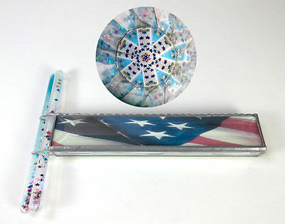 Handheld Stars & Stripes Double Wand Kaleidoscope by an Unknown Artist