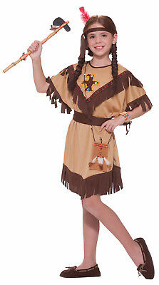 Native American Indian Princess Dress Costume Child