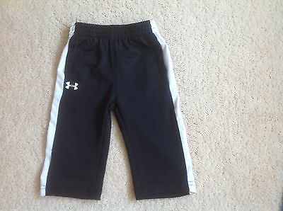 Baby Boy Under Armour Athletic Pants Size 3/6 Montgs