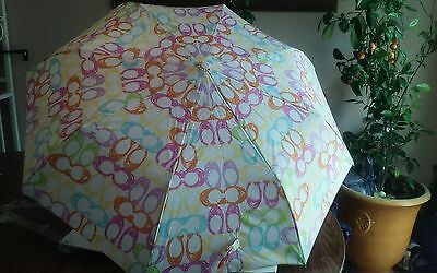 Coach umbrella C print