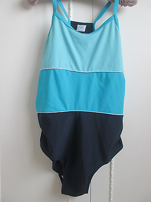 Moda Mothercare block coloured  maternity swimsuit  size12-14