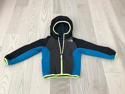 The North Face Kids Toddler Boys Reversible Wind Jacket Lightweight Size 2T