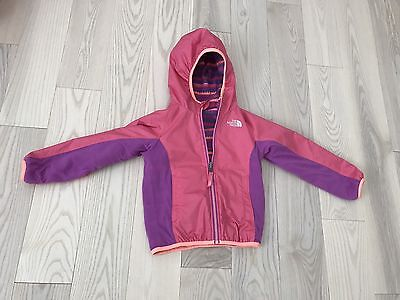 The North Face Kids Toddler Girls Reversible Wind Jacket Lightweight Size 4T
