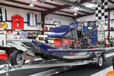 2015 Diamond Back Ultra Light Airboat Lycoming Carbon Prop Includes Trailer